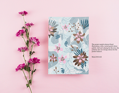Candy Floral Illustrations