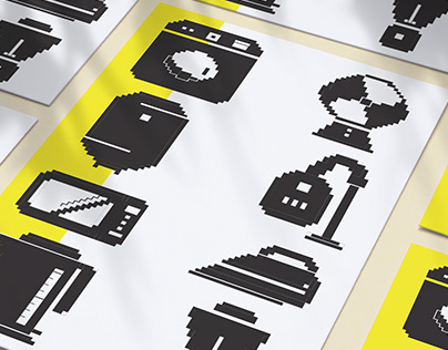 Icon design for electric appliances