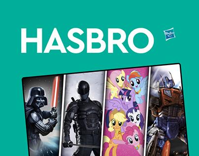 Hasbro – website redesign
