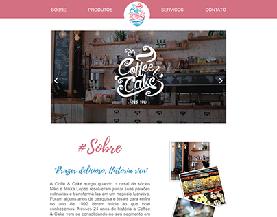 Coffe & Cake (Projeto de Conclusão de Módulo)