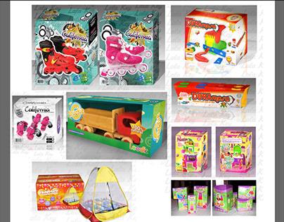 various packaging design