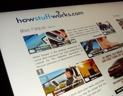 HowStuffWorks Windows 8 application