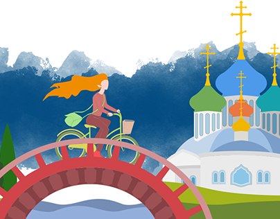 Illustrations for French-Russian translator web site