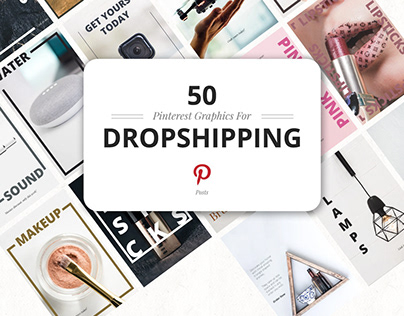 50 Pinterest Dropshipping Graphics