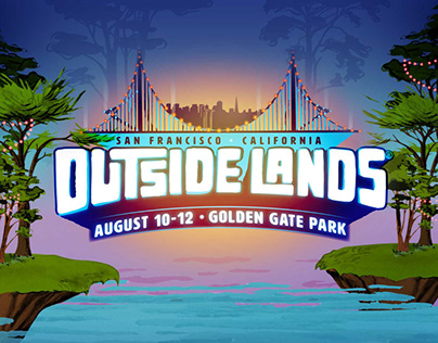 Outside Lands 2018 Identity