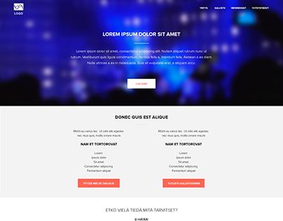 Website Interface Draft 2015
