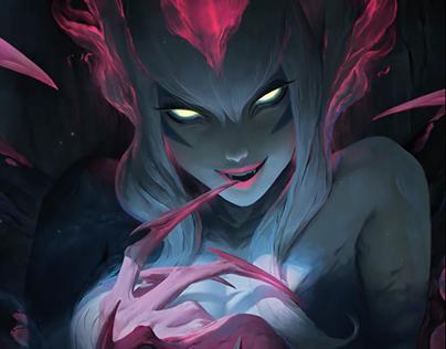 Evelynn - League of Legends - Teaser and Login Screen