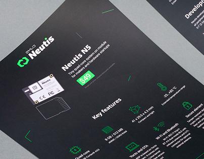 Emlid Neutis Identity and Web Page