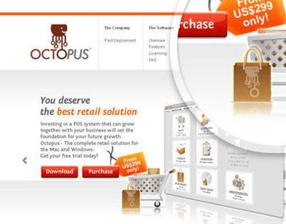 Eleos Retail Solution Web Design