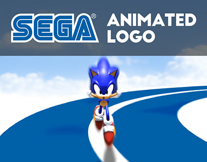 Sega 3D Animation Logo