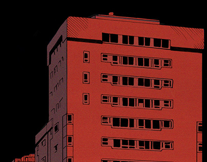 City Background//Graphic Novel Page
