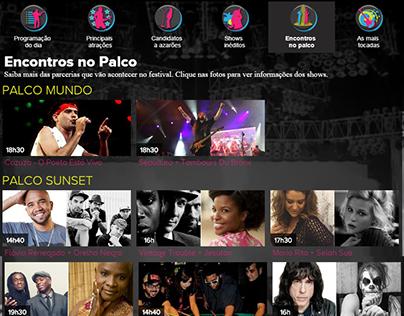 Programação do Rock in Rio de 2013