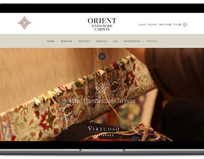 Orient Handmade Carpets Website