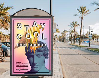 Summer poster -STAY COOL