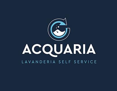 LOGO & VISUAL DESIGN - Acquaria   Lavanderia