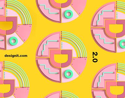 Designit Rebrand Visuals