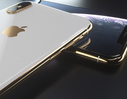 iPhone XS Max 3D Model and Renders