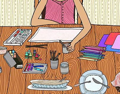 Raudra: Graphic Novel on Domestic violence Part I