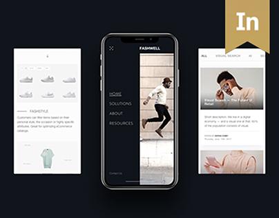 Digital Product Website: Fashwell
