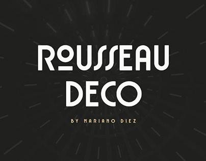 ROUSSEAU DECO - FREE DISPLAY FONT