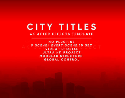 City Titles Sequence