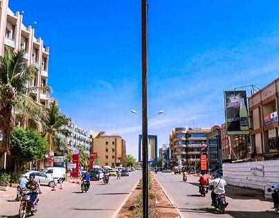 BURKINA FASO: Solar powered traffic lights