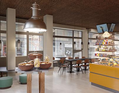 Égalité - Bakery shop, Milano