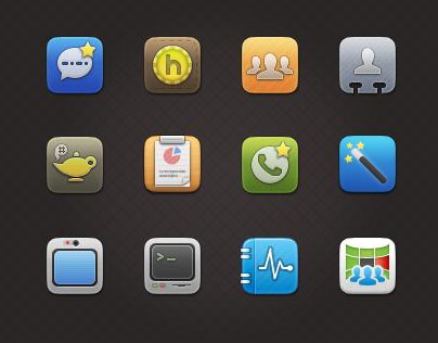 Web App Icons - Hoiio