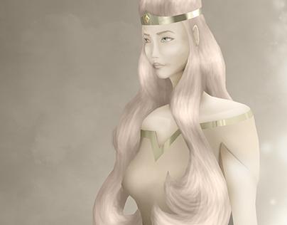 """Concept Art for """"Gems of Destiny"""""""