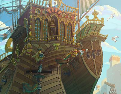 Animation backgrounds 2