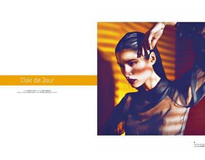 Claire de Jour @ Edit Mag - July 2012