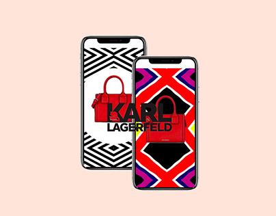 Karl Lagerfeld Motion Design