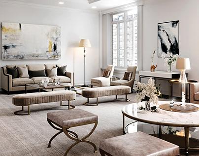 New York apartment - 3d renderings