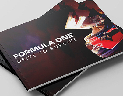Formula One Drive to Survive Brochure