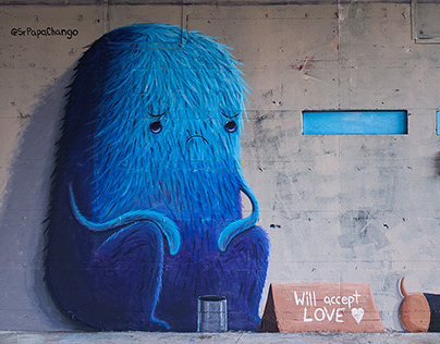 """Will accept LOVE"" Mural in Berlin."