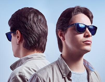Beauty Shot with Sunglasses