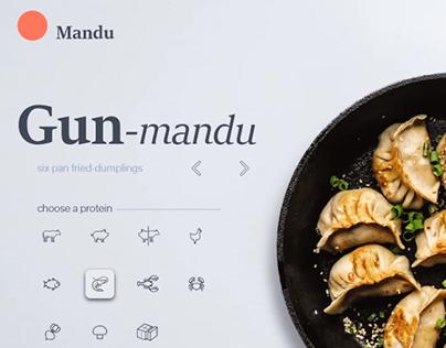 Mandu - Korean Dumplings