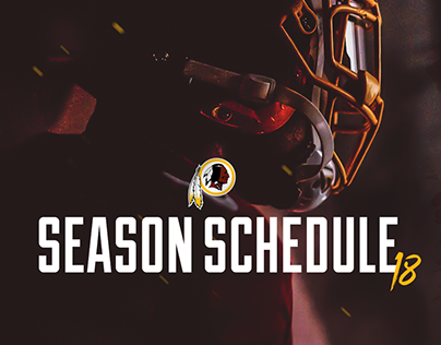 Redskins - 2018 Schedule Release