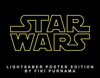 Star Wars : Lightsaber Poster Edition