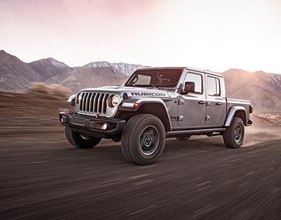 Jeep Gladiator Storyboards