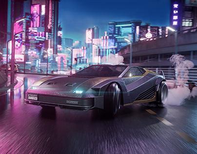 Night City 2077   CGI