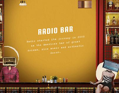 Radio Bar, Website