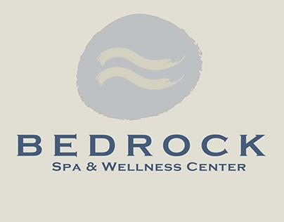Bedrock Spa & Wellness Center Branding