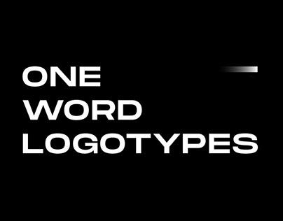 ONE WORD LOGOTYPES