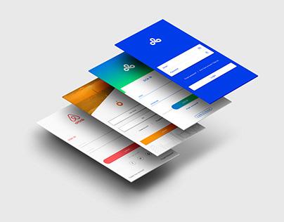 10 Login Screens Template