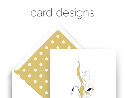 Botanical Card Designs
