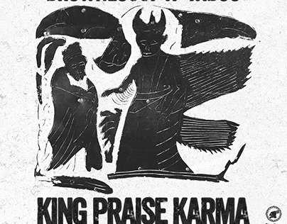 "COVER_ART ""KING PRAISE KARMA"" single"