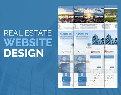 Real Estate UI/UX design