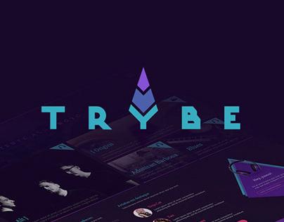 Trybe - Logo + Website