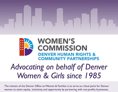 Event Banner - Denver Women's Commission